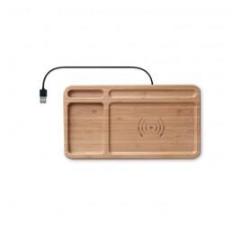 CLEANDESK - Sertar încărcător fără fir     MO9391-40, Wood