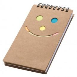 Caiet notiţe Smile face - 2058301, Brown