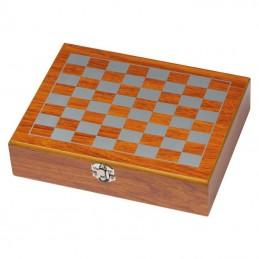 Set joc cu sticlă plată - 6078601, Brown