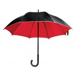 Umbrelă lux cu tijă metalică - 4519705, Red