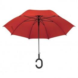 """Umbrelă cu mâner """"C"""" - 4139105, Red"""