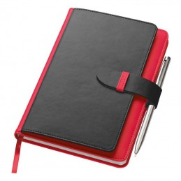 Bloc notes A5 - 2008805, Red