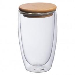 Sticlă cu perete dublă 500ml - 8153666, Transparent