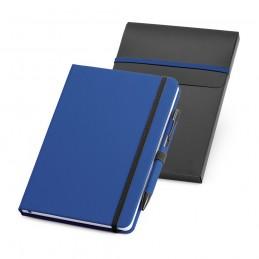 SHAW. Set pix și notepad A5 93795.14, Albastru Royal