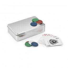 EDDY. Joc de poker 98089.27, Argintiu satinat