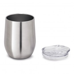 RONDE. Cupa de călătorie 94677.27, Argintiu satinat
