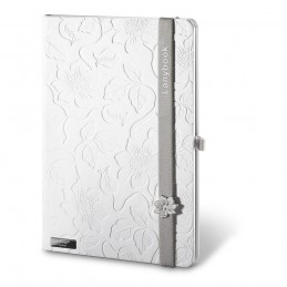 LANYBOOK INNOCENT PASSION WHITE. Notepad 53435.13, Gri