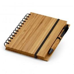 DICKENS. Notepad de buzunar bambus 93486.60, Natural
