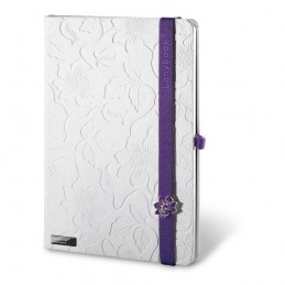LANYBOOK INNOCENT PASSION WHITE. Notepad 53435.32, Violet