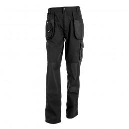 WARSAW. Pantaloni de lucru bărbați 30178.03-L, Negru