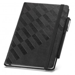 GEOMETRIC Notebook. Notepad 93596.03, Negru