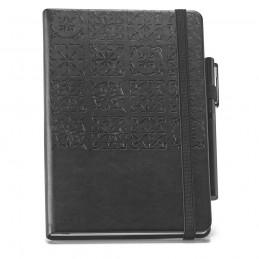 TILES Notebook. Notepad 93737.03, Negru