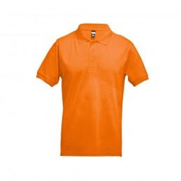 ADAM. Tricou polo pentru barbati 30131.28-L, Portocaliu
