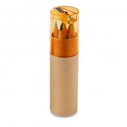 ROLS. Cutie cu 6 creioane colorate 91751.28, Portocaliu
