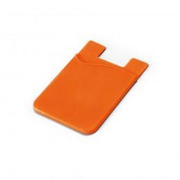 SHELLEY. Suport pentru card smartphone 93320.28, Portocaliu