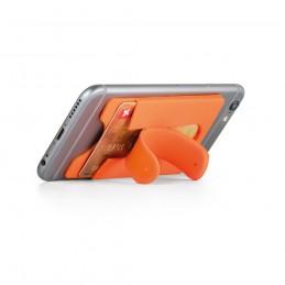 CARVER. Suport pentru card smartphone 93321.28, Portocaliu