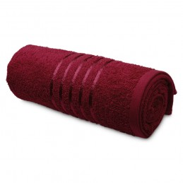 TROPIC I. Cotton terry towel 33162.15, Burgundia