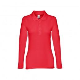 BERN WOMEN. Polo mânecă lungă pentru dame 30145.05-XXL, Roșu