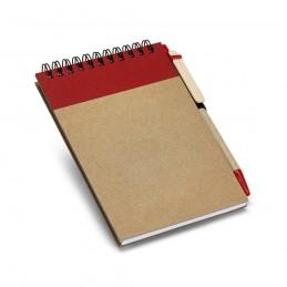 RINGORD. Notepad de buzunar 93427.05, Roșu