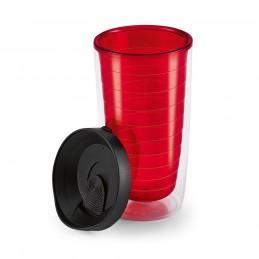 GASOL. Cupa de călătorie 94617.05, Roșu