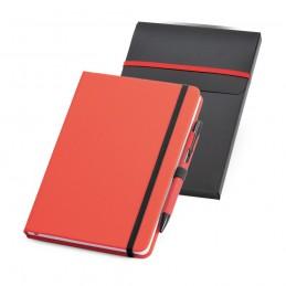 SHAW. Set pix și notepad A5 93795.05, Roșu