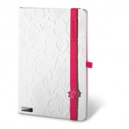 LANYBOOK INNOCENT PASSION WHITE. Notepad 53435.02, Roz
