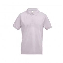 ADAM. Tricou polo pentru barbati 30131.52-L, Roz pastelat