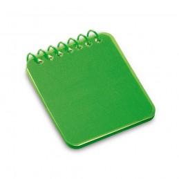 WOOLF. Notepad de buzunar 93710.09, Verde