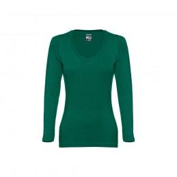 BUCHAREST WOMEN. Tricou mânecă lungă dame 30126.99-L, Verde melange