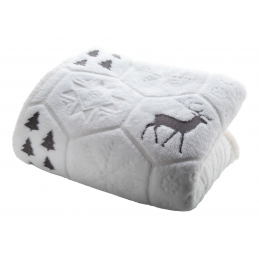 Sundborn - Pătură de Crăciun AP861005-77, gri