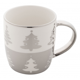 Proxxy - cană Crăciun AP803409-21, argintiu