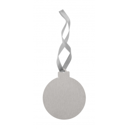 Korsvegen - Christmas tree ornament, ball AP718634-C, argintiu