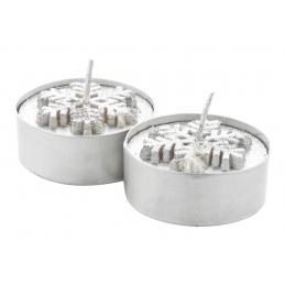Duo - Set lumânări AP731614-21, argintiu