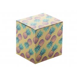 CreaBox Mug Q - cutie personalizată AP718313-01, alb
