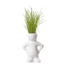 Dude - figurina cu iarba AP886000, alb