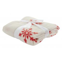 Uppsala - pătură fleece AP861003-01, alb