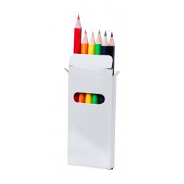Garten - set creionae colorate AP731349-01, alb