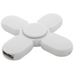 Kuler - spinner cu USB hub AP721040-01, alb
