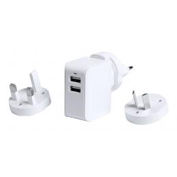 Duban - adaptor încărcător USB AP721588-01, alb