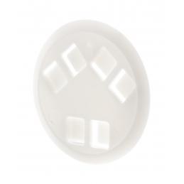 Espot - insignă lanyard AP809396-01, alb