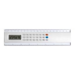 Profex - riglă cu calculator AP741515-01, alb