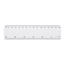 Hebe - riglă AP791347-01, alb