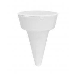 Cleansand - scrumieră de plajă AP731922-01, alb