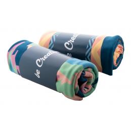 CreaBlanket - pătură fleece cu sublimare AP718187-01, alb