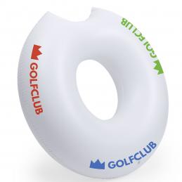 Donutk - saltea gonflabilă de plajă AP781494-01, alb