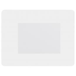 Pictium - ramă foto/mouse pad AP741153-01, alb