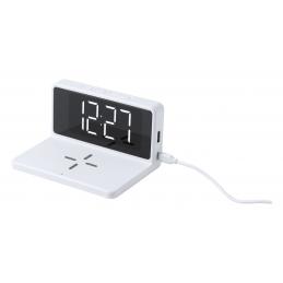 Minfly - ceas alarmă și încărcător wireless AP721666-01, alb