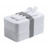 Fandex - anti-bacterial lunch box AP721817-01, alb