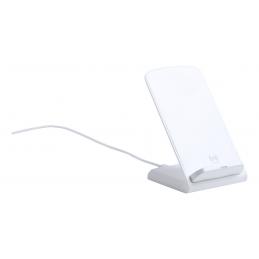 Tarmix - suport telefon  cu încărcător wireless AP721683-01, alb