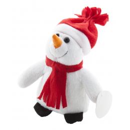 Lumiukko - om de zăpadă din plush AP899004, alb